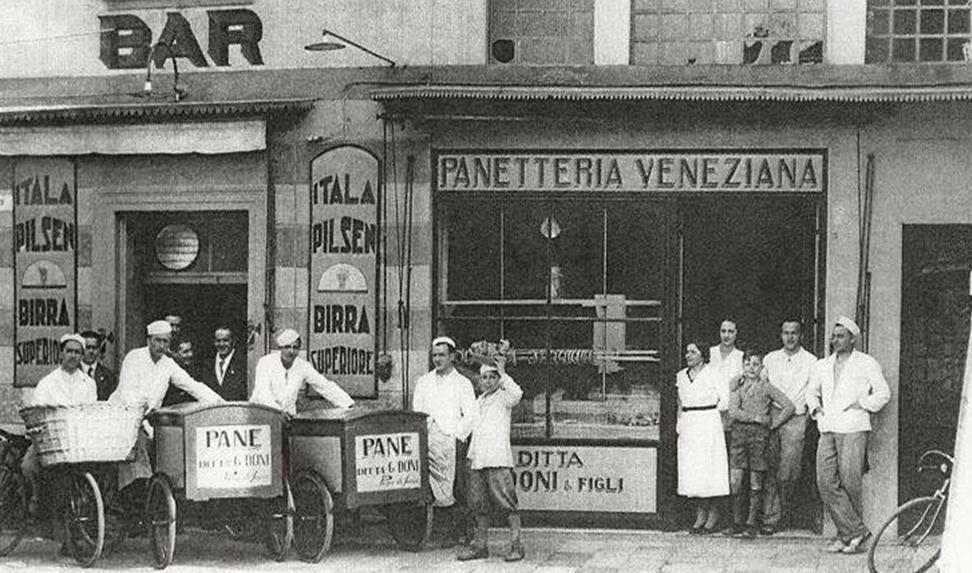 fotto storica del forno veneziano