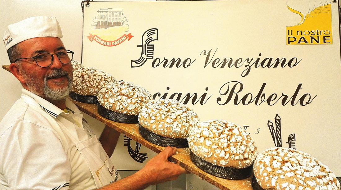 Roberto, l'artista dei panettoni veneziani